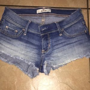 Jean hollister shorts